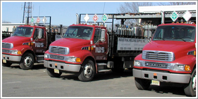 new industrial welding supply trucks